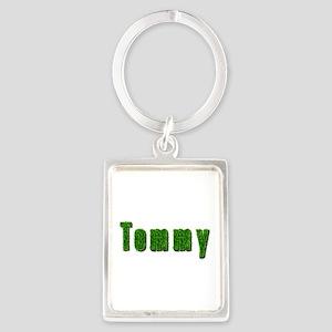 Tommy Grass Portrait Keychain
