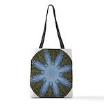 Forest Blue 8pt Polyester Tote Bag