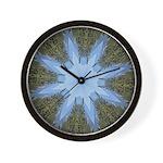 Forest Blue 8pt Wall Clock