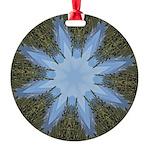 Forest Blue 8pt Ornament