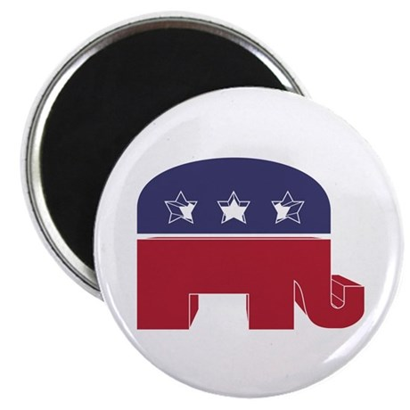 "Republican Elephant (NP) 2.25"" Magnet (10 pack)"