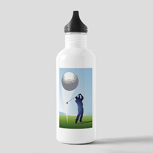 golf shoot Sports Water Bottle