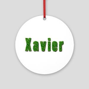 Xavier Grass Round Ornament