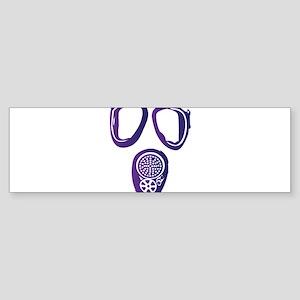 Gas Mask Sticker (Bumper)