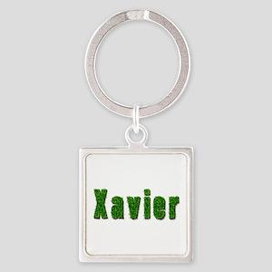 Xavier Grass Square Keychain
