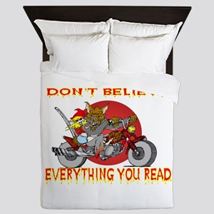 Big Bad Wolf Queen Duvet