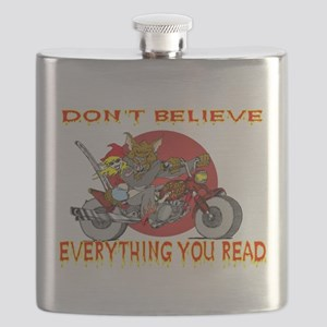 Big Bad Wolf Flask