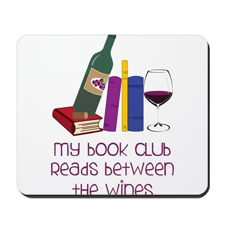 My Book Club Mousepad