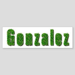 Gonzalez Grass Bumper Sticker