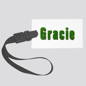 Gracie Grass Large Luggage Tag