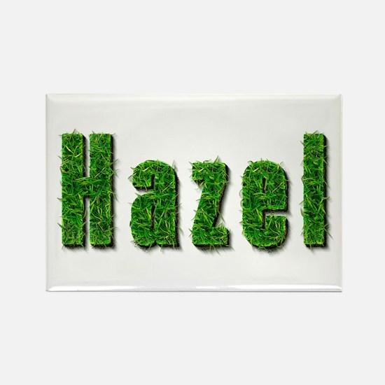 Hazel Grass Rectangle Magnet
