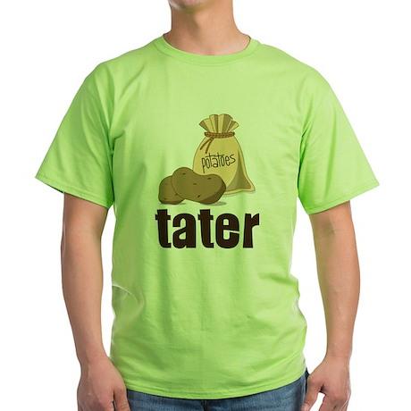 Tater Green T-Shirt