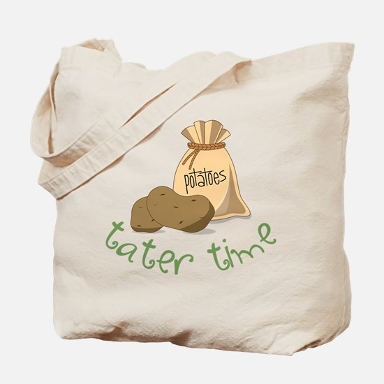 Tater Time Tote Bag