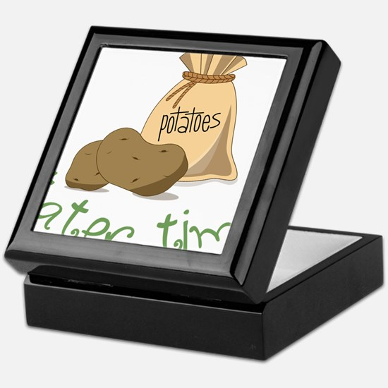 Tater Time Keepsake Box