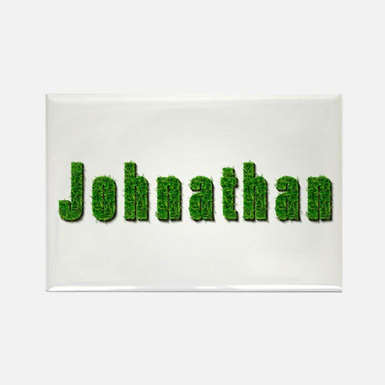 Johnathan Grass Rectangle Magnet