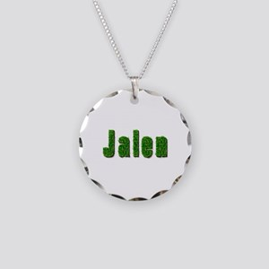 Jalen Grass Necklace Circle Charm