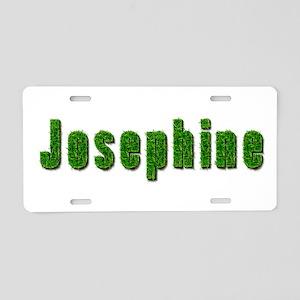 Josephine Grass Aluminum License Plate
