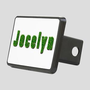 Jocelyn Grass Rectangular Hitch Cover