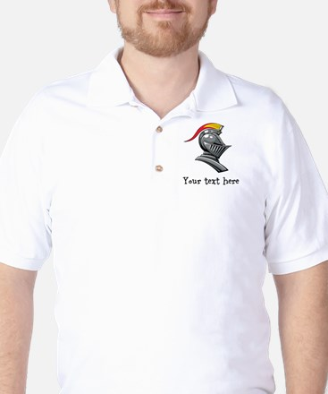 Customizable Knights Helmet Golf Shirt