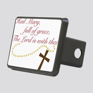 Rosary Rectangular Hitch Cover