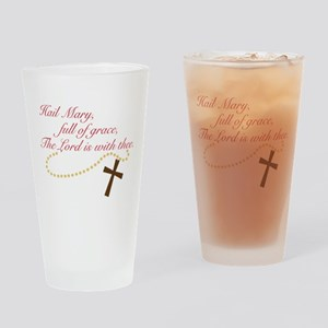 Rosary Drinking Glass