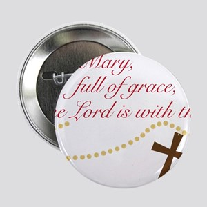 "Rosary 2.25"" Button"
