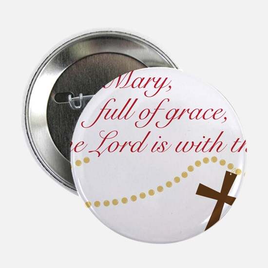 """Rosary 2.25"""" Button"""