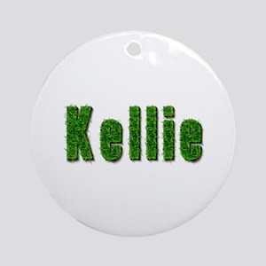 Kellie Grass Round Ornament