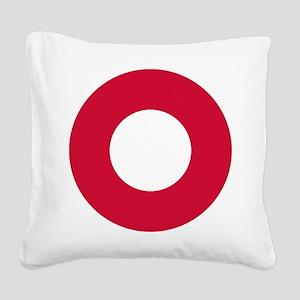 Royal Danish AF roundel Square Canvas Pillow