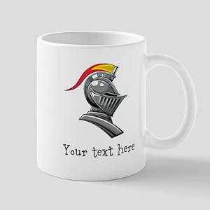 Customizable Knights Helmet Mug
