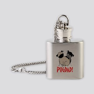 StickPugdad Flask Necklace