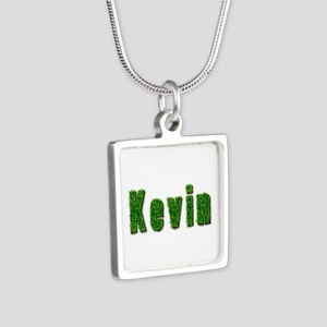 Kevin Grass Silver Square Necklace