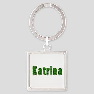 Katrina Grass Square Keychain