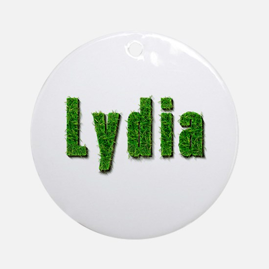 Lydia Grass Round Ornament