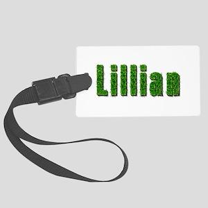 Lillian Grass Large Luggage Tag