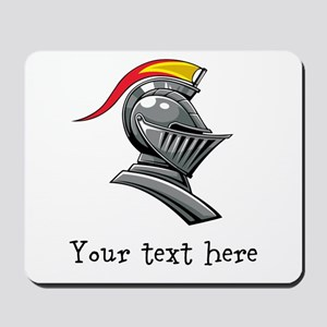 Customizable Knights Helmet Mousepad