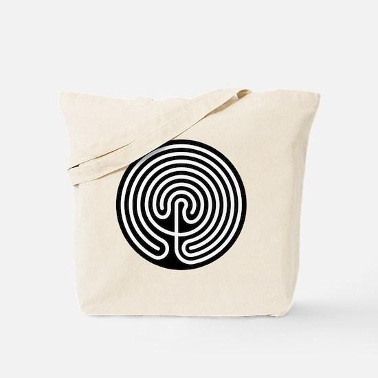 Cool Labyrinth Tote Bag