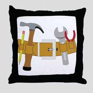 Handyman Tools Throw Pillow