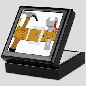 Handyman Tools Keepsake Box