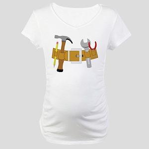 Handyman Tools Maternity T-Shirt