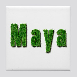 Maya Grass Tile Coaster