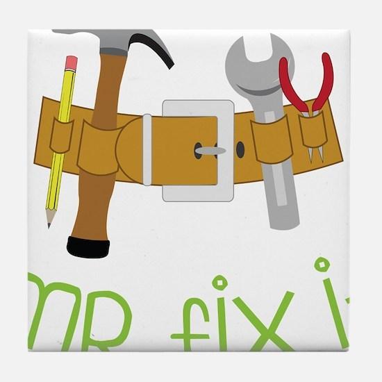 Mr. Fix It Tile Coaster