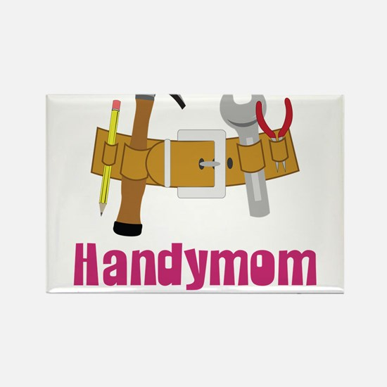 Handymom Rectangle Magnet