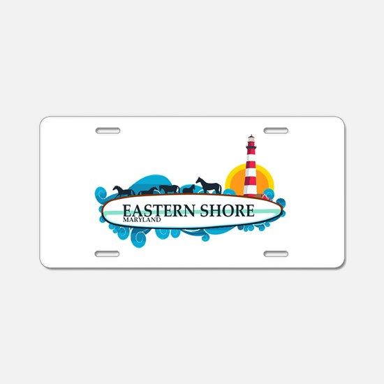 Eastern Shore MD - Surf Design. Aluminum License P