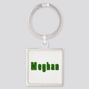 Meghan Grass Square Keychain