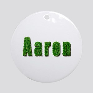 Aaron Grass Round Ornament