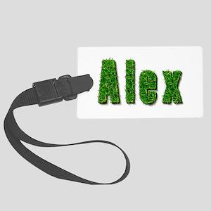 Alex Grass Large Luggage Tag