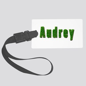 Audrey Grass Large Luggage Tag
