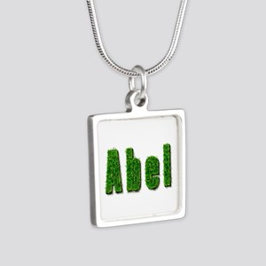 Abel Grass Silver Square Necklace
