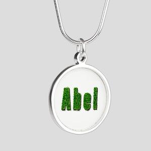 Abel Grass Silver Round Necklace